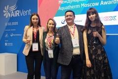 Aquatherm Moscow Оконные Фильтры OKFIL конгресс AirVent